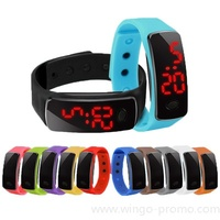 WG-WAT-D04   M3 Fashion Led Silicone Electronic Wrist Watch