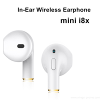 WG-PEA08 mini i8x In-Ear Sport Portable Wireless Earbuds BT Earphone
